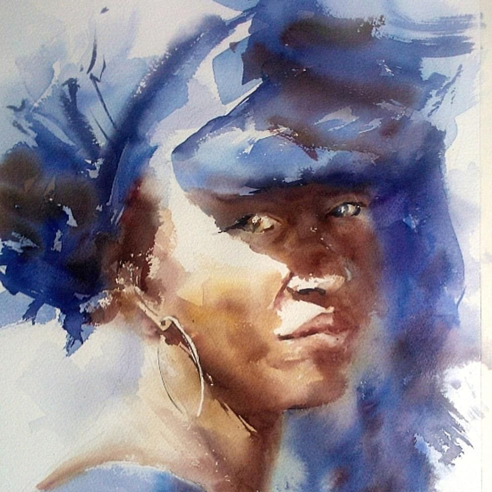 The Best Watercolor On Instagram Watercolor By Jean Luc Decron