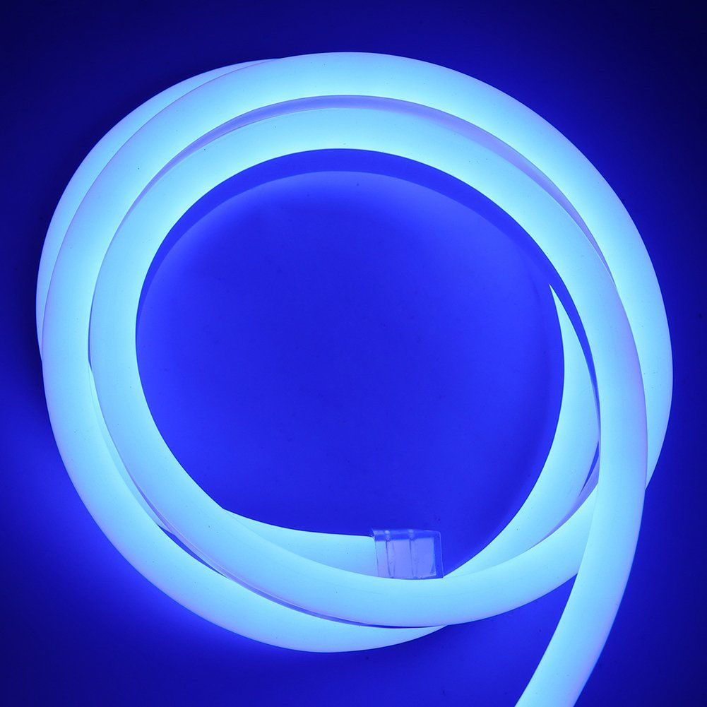 Xunata Waterproof Led Neon Rope Light 12v Smd 2835 120 Leds M Flexible Led Strip Bar Letter Sign Lamp For Garden Patio Pa In 2020 Rope Light Patio Party Waterproof Led