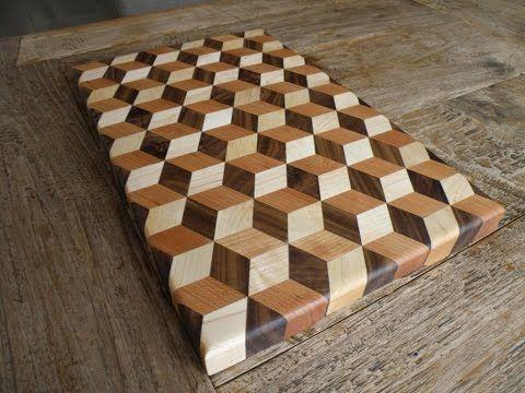 how to make a cutting board youtube
