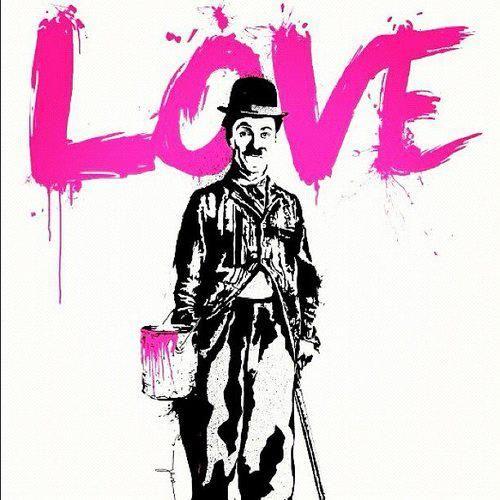 Charlie Chaplin - Who needs words.  L'amore è un film muto:   togli il volume e concentrati sui gesti.   M. Gramellini
