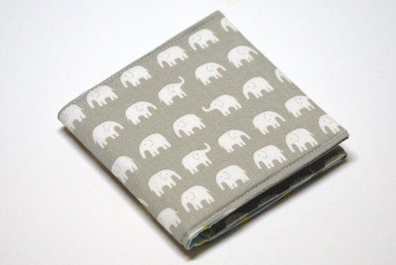 Square business card case elephants oversized card holder fabric square business card case elephants oversized card holder fabric wallet grey colourmoves