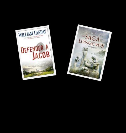 Sorteo FERIA DEL LIBRO 2012. Puedes ganar 5 ejemplares de LA SAGA DE LOS LONGEVOS, y 5 de DEFENDER A JACOB.    Entra en el sorteo de 5 packs con los 2 ejemplares de las novelas de las que más se habla, y más se leen, en internet.  –  Sorteamos el éxito sin precedentes de una autora española en Amazon, EVA GARCÍA SÁENZ con su novela de ficción LA SAGA DE LOS LONGEVOS, y el bestseller norteamericano de legal thriller DEFENDER A JACOB de WILLIAM LANDAY.
