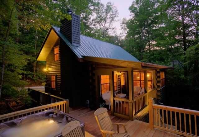 Georgia cabin rental cherry lake hideaway 1 amazing for Rent a cabin in georgia mountains