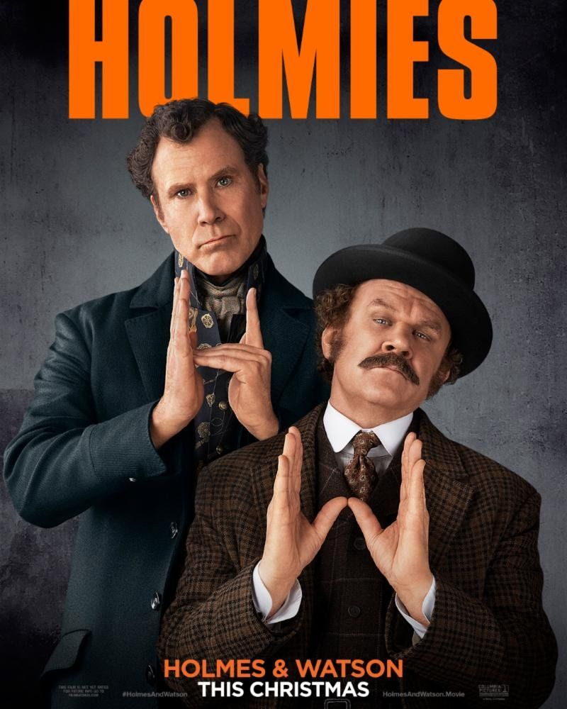 """Official Poster for """"Holmes and Watson """" movies Movies"""