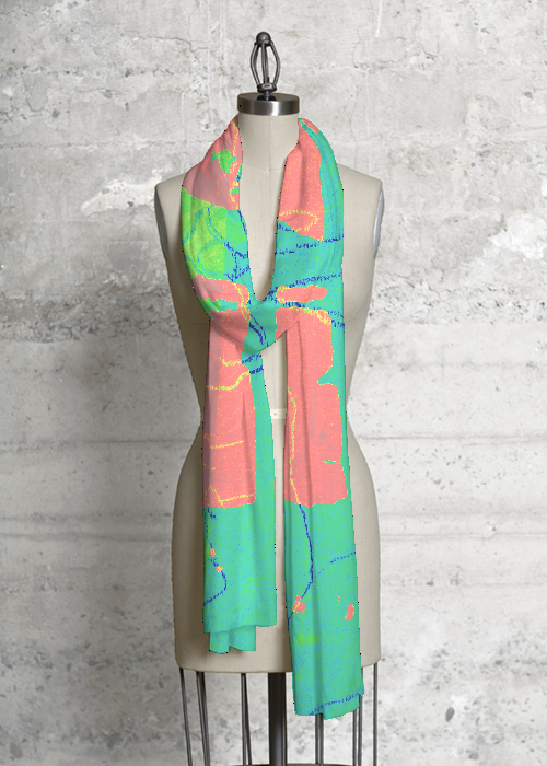 Modal Scarf - Rainforest Butterfly by VIDA VIDA