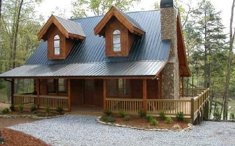 Cabin on Lake Nottely, Blairsville (Union County Ga) | Log