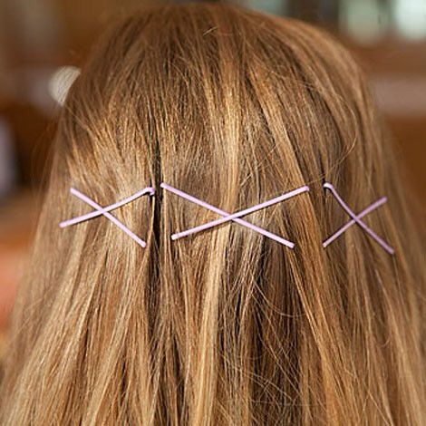 Bobby pins in X