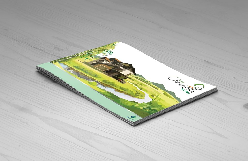 Artistic Brochure Design For Builders And Developers Based In Vasai Palghar Design Client Sar Brand Marketing Strategy Brand Marketing Collateral Design