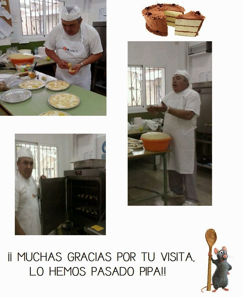 Los cachirulos de Media Luna: Las profesiones: El Panadero de Pinos Puente