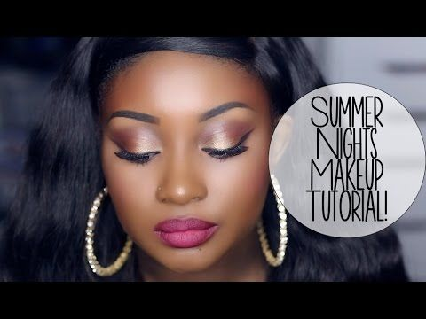 Makeup Tutorial | Summer Nights (ft. Glamierre Cosmetics)! - YouTube #makeudoll