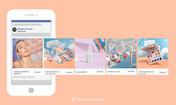 Creative Facebook Carousel Ads Examples To Get Inspired By In 2021 In 2021 Facebook Carousel Ads Banner Design Inspiration Ads