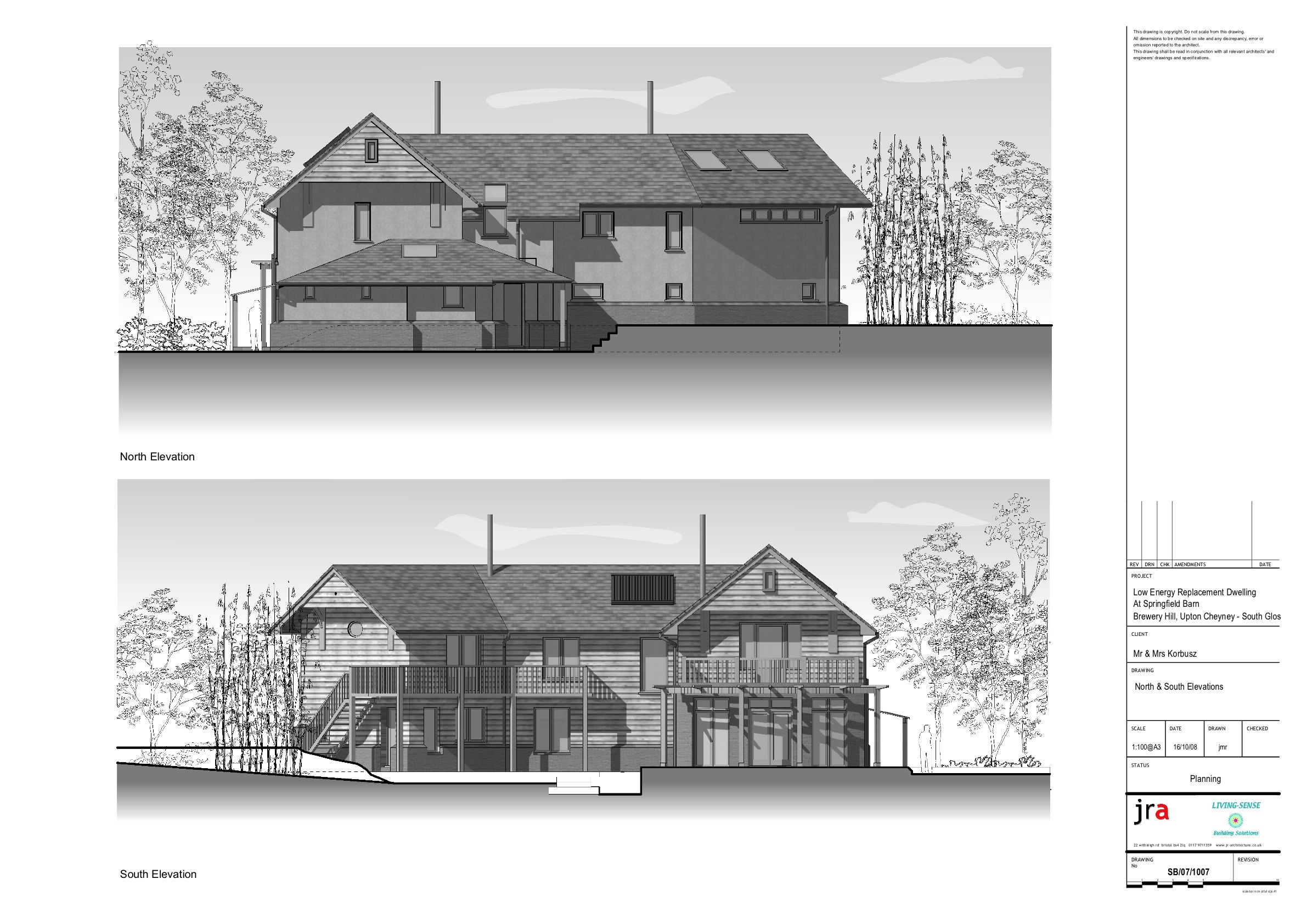 Greyscale planning elevations of proposed Ecohome. | Architecture ...
