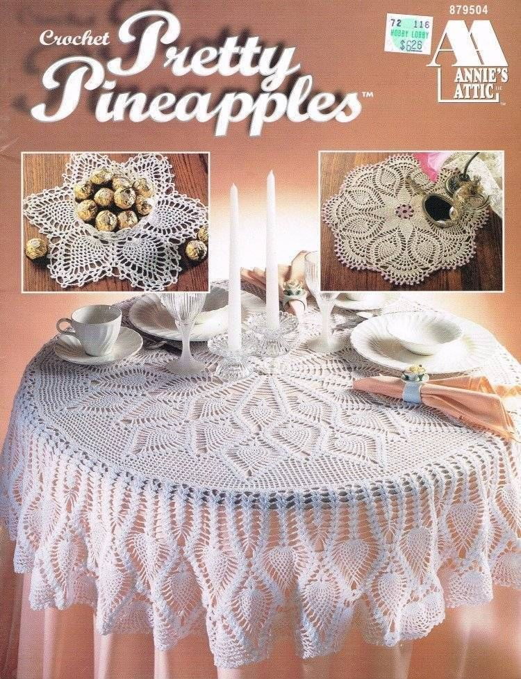 Pretty Pineapples Doilies Crochet Pattern Book 7 Doily Patterns ...