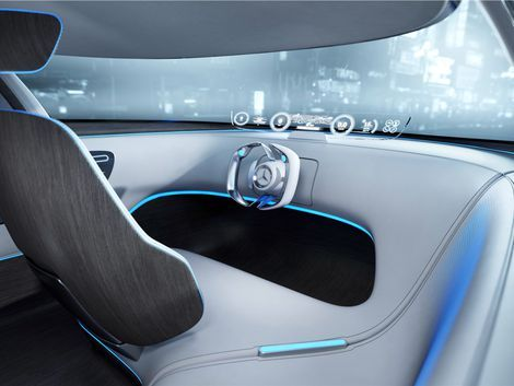 Mercedes' new urban autonomous concept vehicle is more club than car. - Page 9