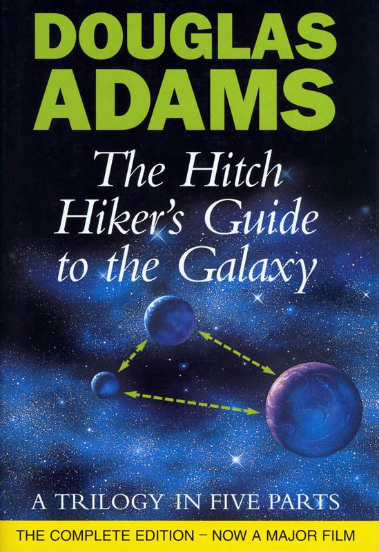 The Hitchhiker's Guide to the Galaxy Trilogy - Douglas Adams