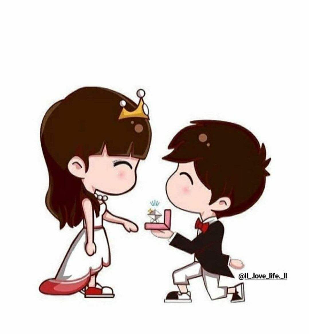 Jaaaan Wedding Couple Cartoon Couple Cartoon Cute Cartoon Pictures