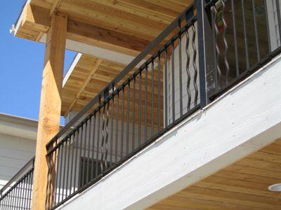 Best Custom Built Wrought Iron Steel Railings Handrails Metal 400 x 300