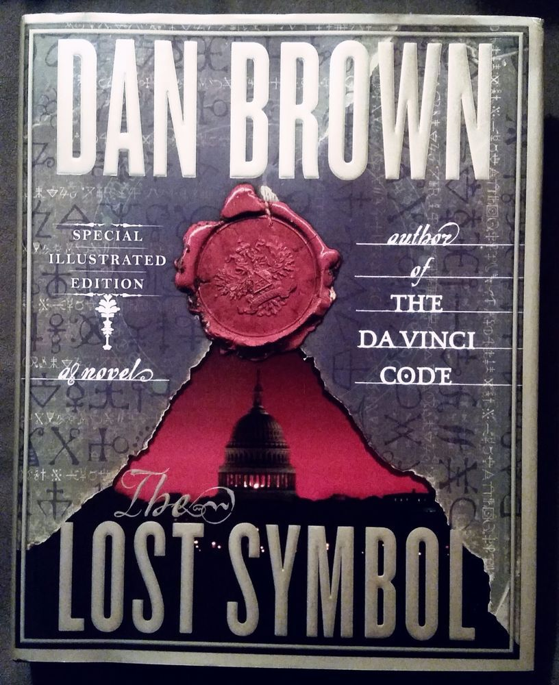 Robert Langdon The Lost Symbol By Dan Brown Hardcover Illustrated