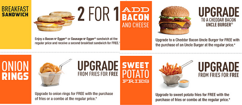 Mmmm A W Coupons Coupons Canada Restaurant Coupons Burger Order