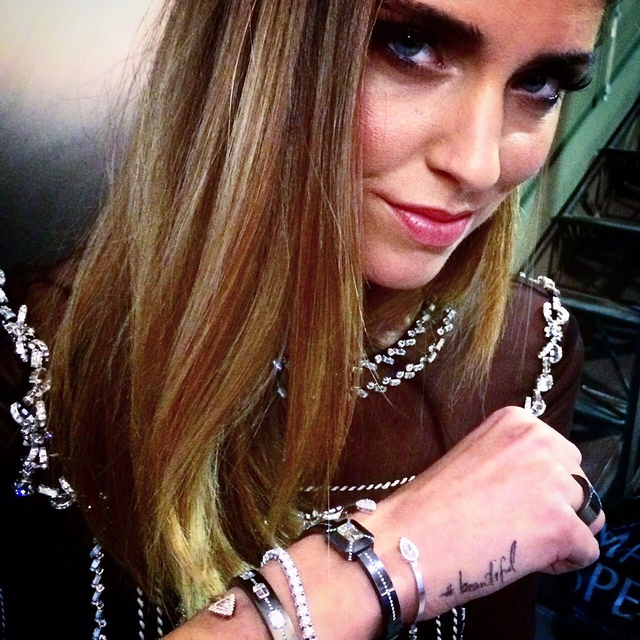 Chiara Ferragni in Danelian Diamonds.
