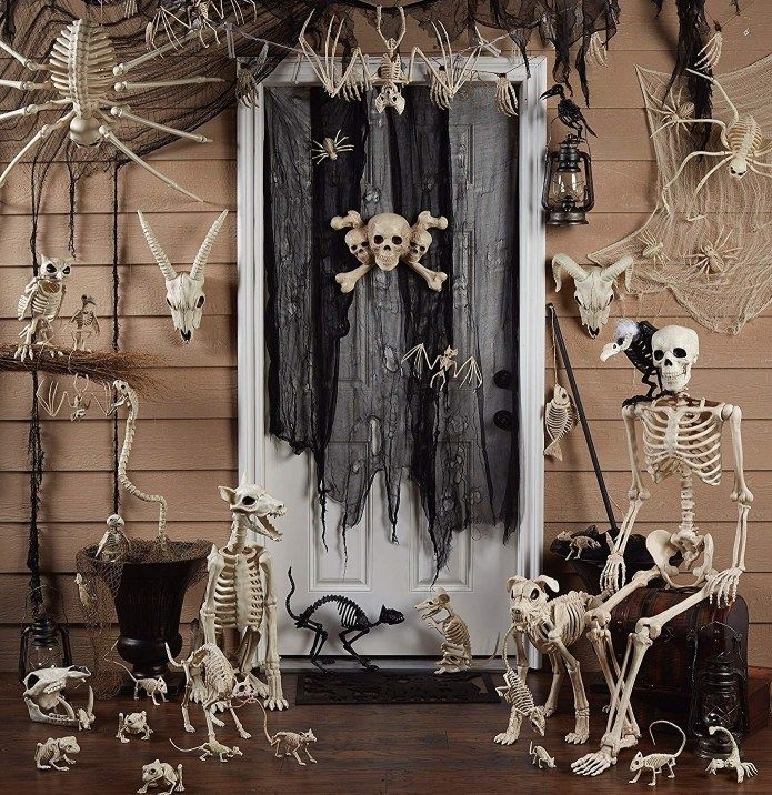 52 Scary Halloween Decorations DIY Ideas For Indoor And