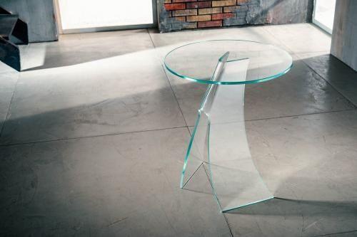 Tavolino vetro curvato vet-tt | Tavolini, Arredamento e ...