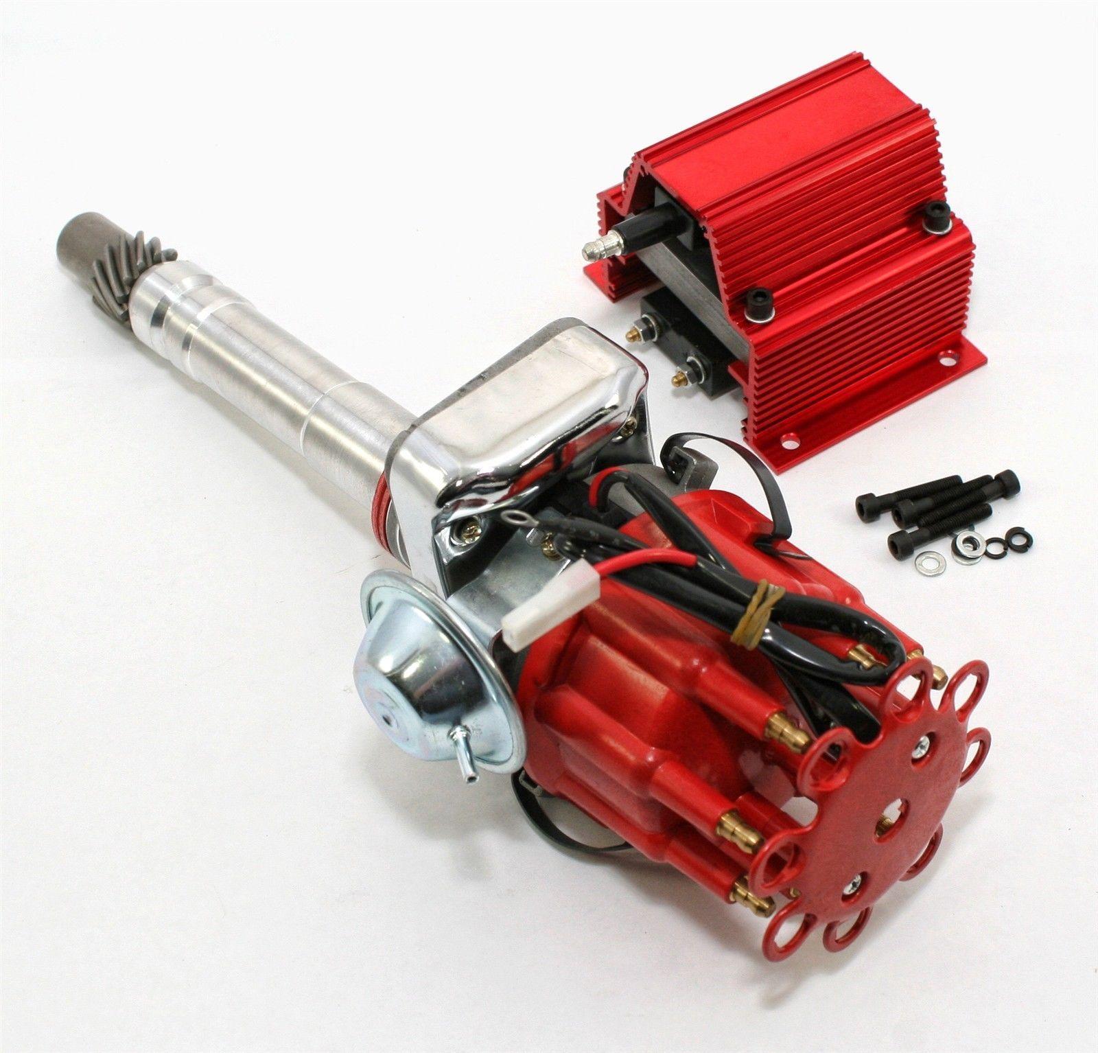 Sbc Bbc Small Big Block Chevy 350 454 Electronic Distributor W E Core Coil Motors Parts Accessories Pe323r Kit Electronic Distributors Big Block Chevy