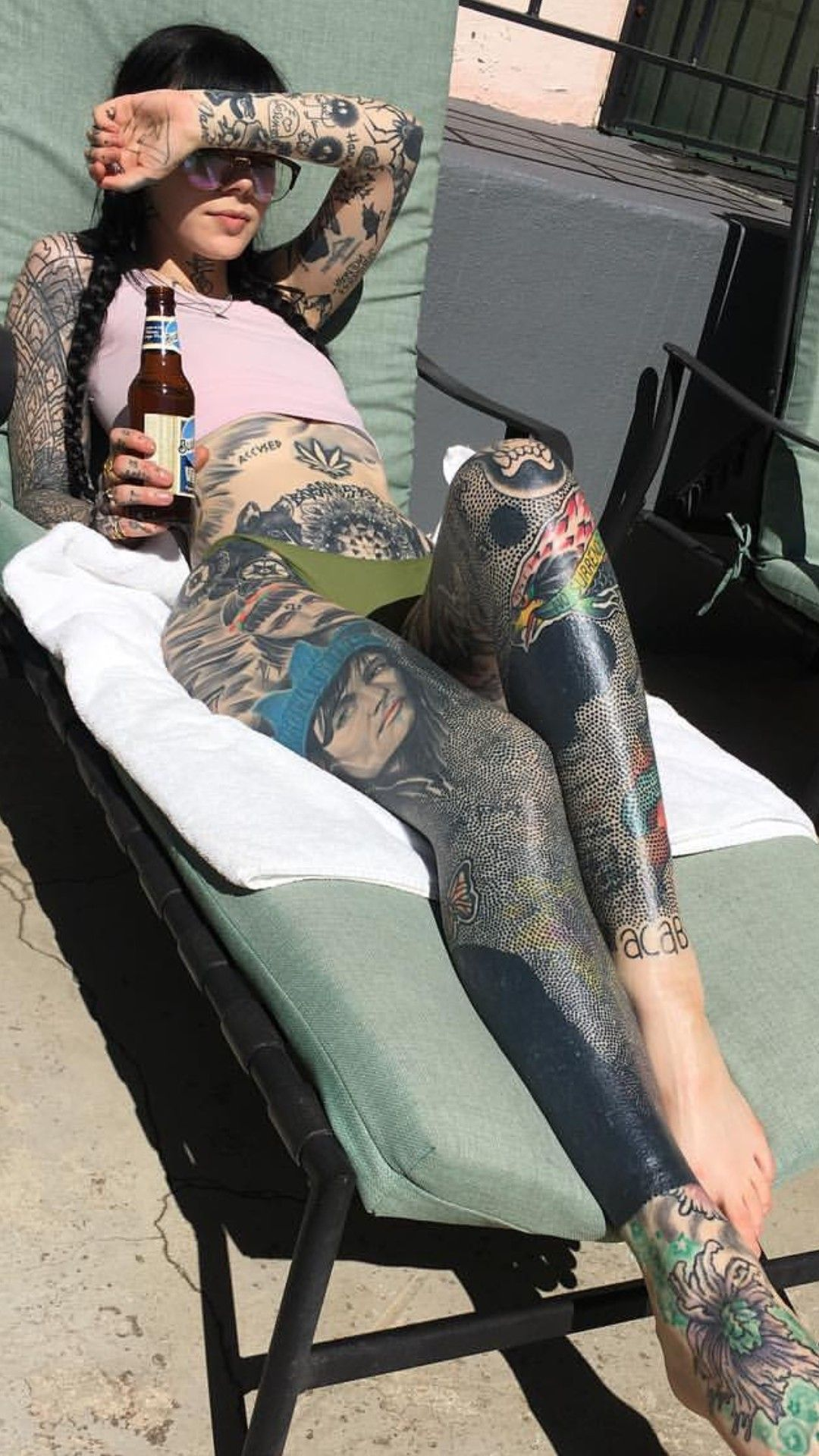 Silo Tattoos Incredible Body Art Masterpieces That Look: She Has Such An Incredible Body And Fantastic Artwork A