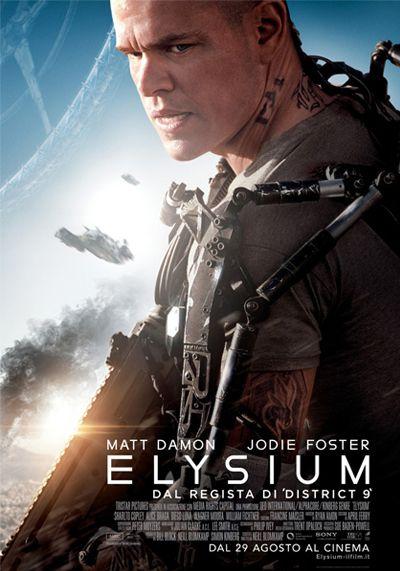 Elysium di Neill Blomkamp fantascienza, azione, Usa (2013)