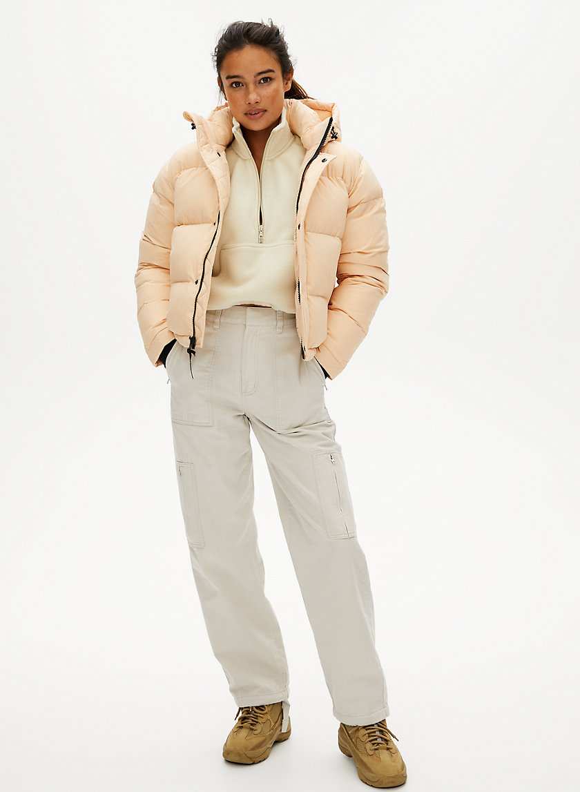 The Super Puff Shorty Best Puffer Jacket Puffer Jacket Style Puffer Jacket Outfit [ 1147 x 840 Pixel ]