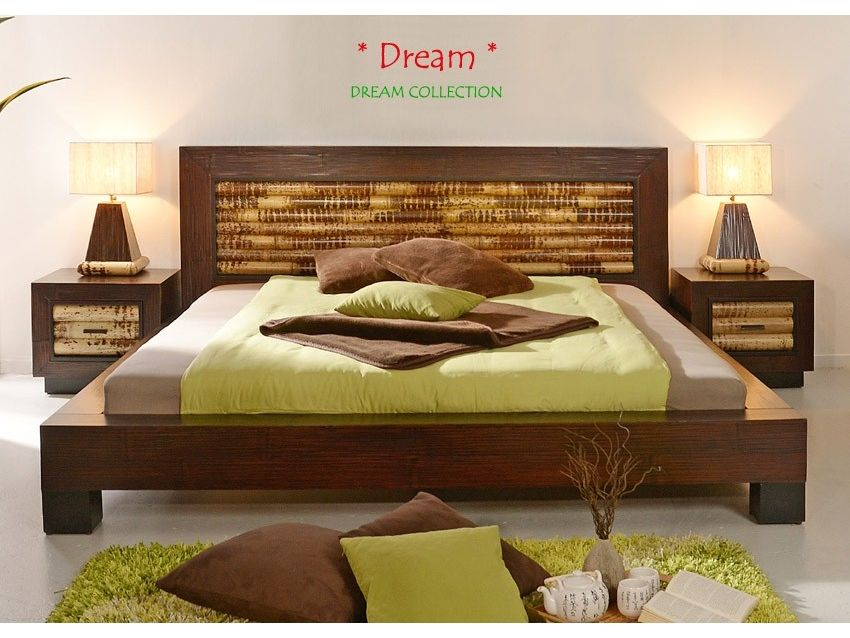 DREAM Bambusbett DREAM COLLECTION Bambusbett, Bett