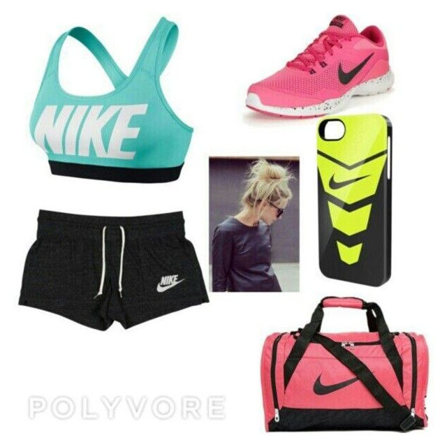 """Gym Day Look"" by faithruru ❤ liked on Polyvore"