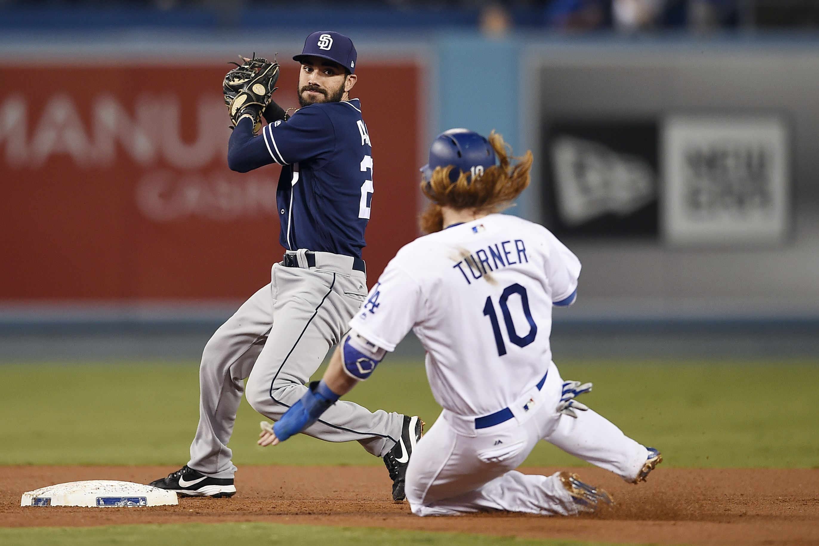 The La Dodgers And The San Diego Will Both Be Gunning For A Victory On 7 10 2018 At 10 10 Pm When They Meet In A Game Matchup With Images La Dodgers Dodgers Mlb