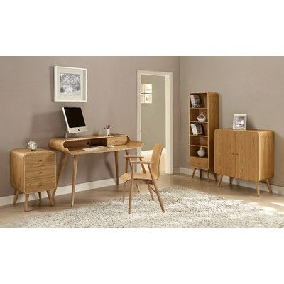 Jual Home Office Computer Desk With Keyboard Tray U0026 Reviews | Wayfair UK.  Büro ComputerschreibtischSchreibtisch ...
