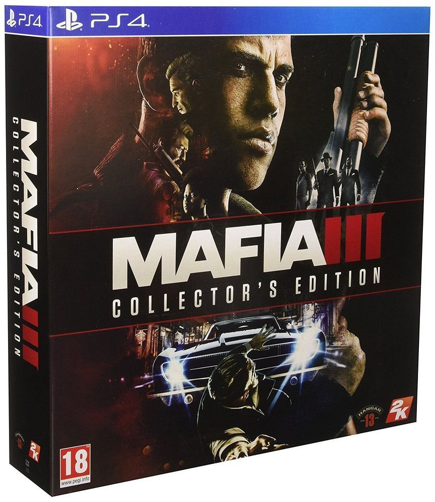 Playstation 4 Mafia Iii Collector 039 S Edition Ps4 Brand New