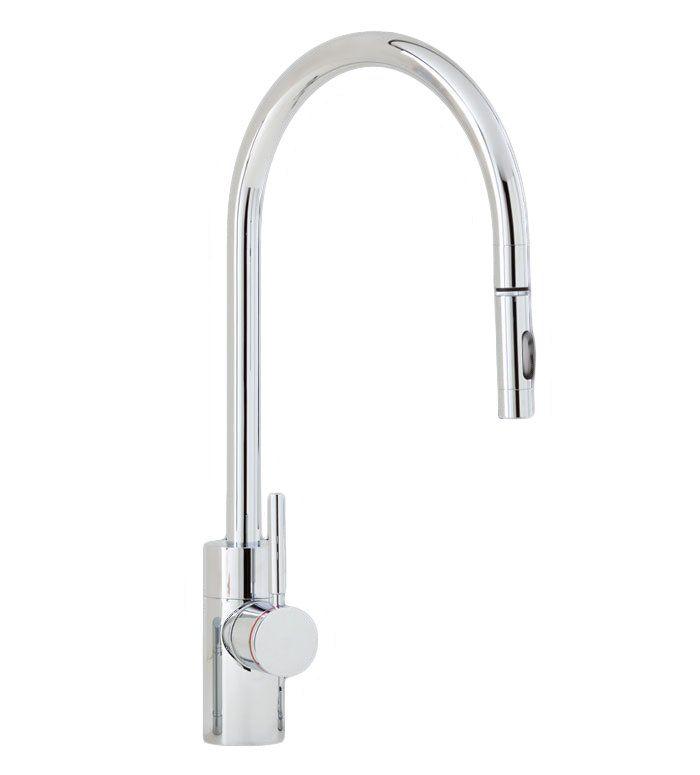 Waterstone 3200-SC Hunley Wall Mount Pot Filler Faucet Satin Chrome
