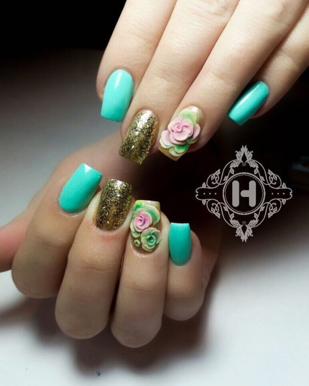 17 Design Ideas For Long And Short Square Nails | French