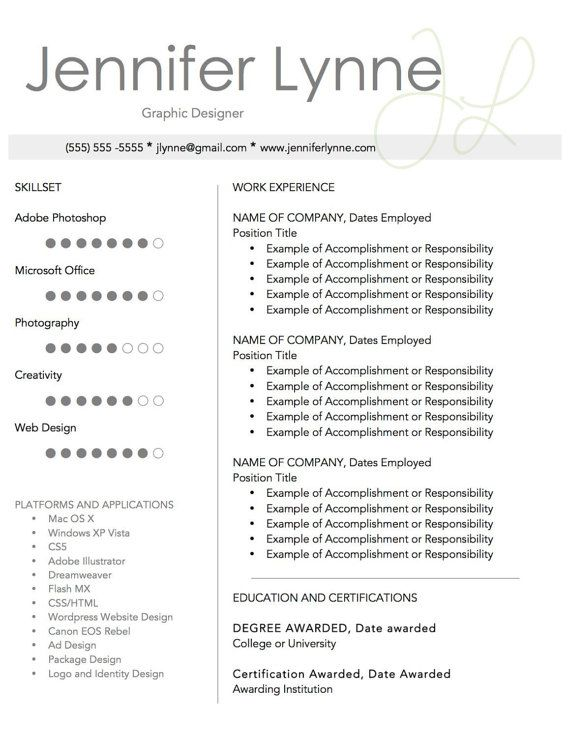 BIG MOVING SALE! Get this complete template kit (CV, References - references in resume