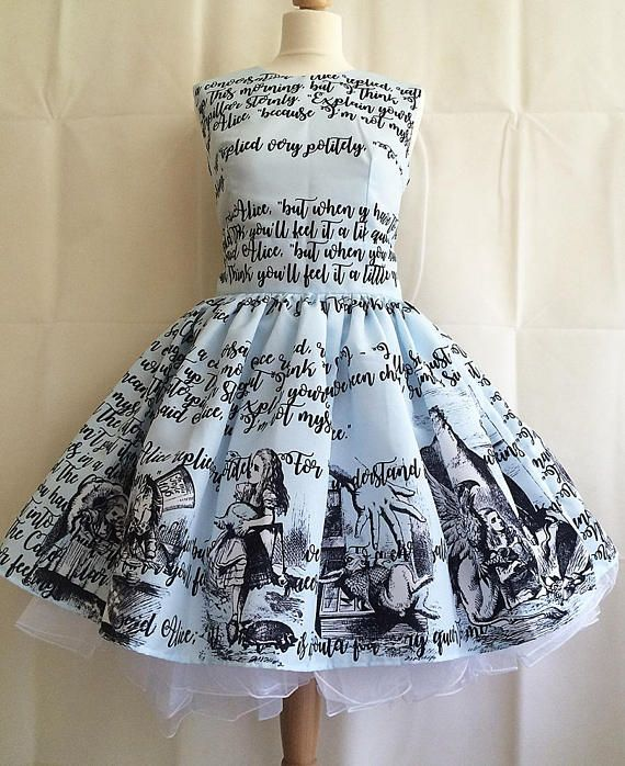 677147436b Alice In Wonderland Dress
