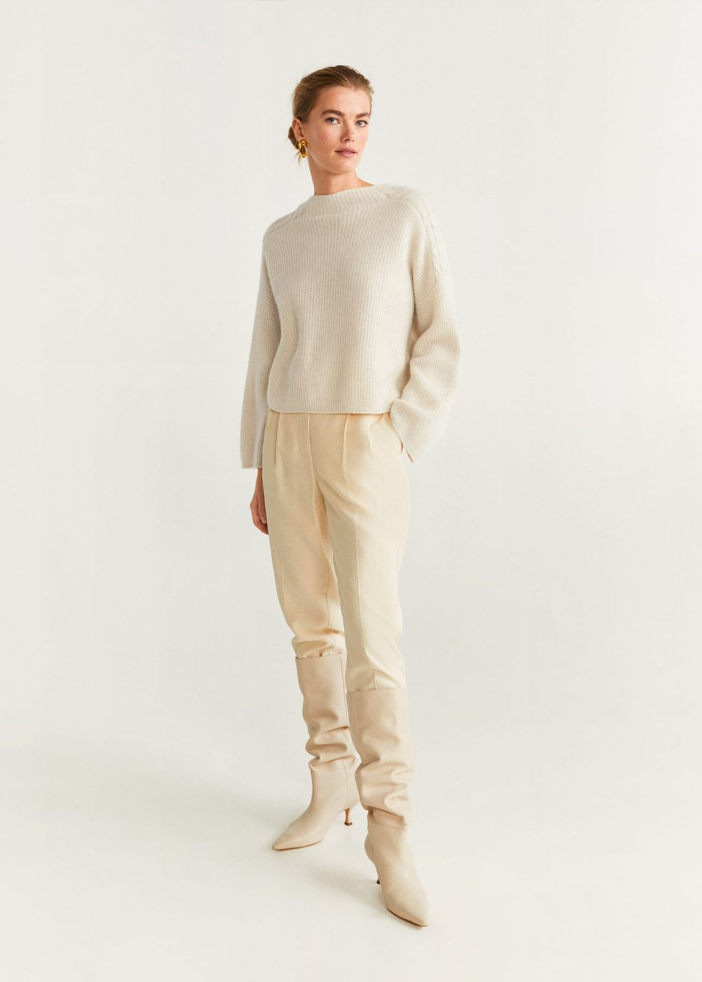 Tricolor ribbed sweater Women (With images) | Cashmere
