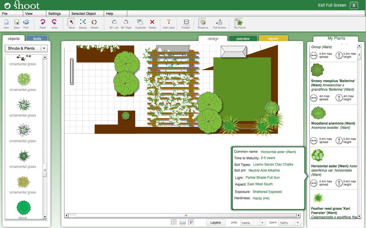 My Garden Planner Garden Design Software Online Shoot
