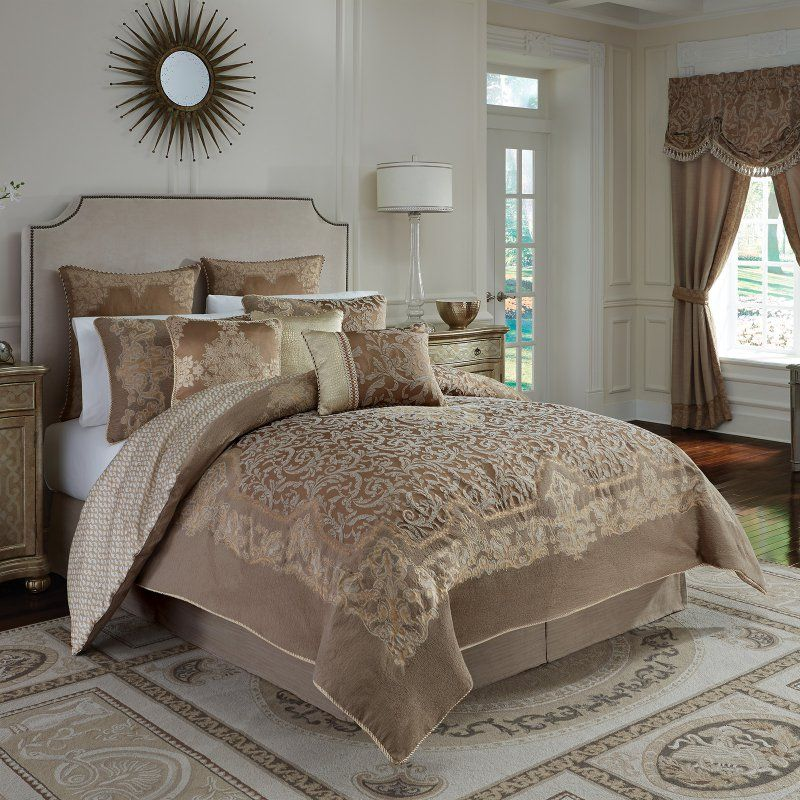 Monte Carlo 4Piece Comforter Set by Croscill Bedding and