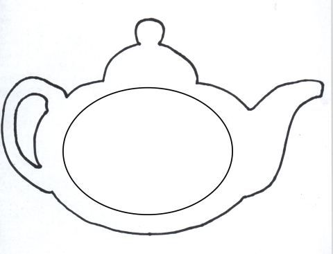 Printable Mothers Day Teapot Card Template Mother Day Craft Tea