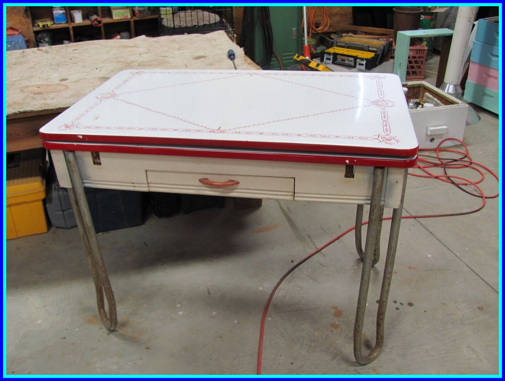 50 reference of 1950 metal kitchen table and chairs in