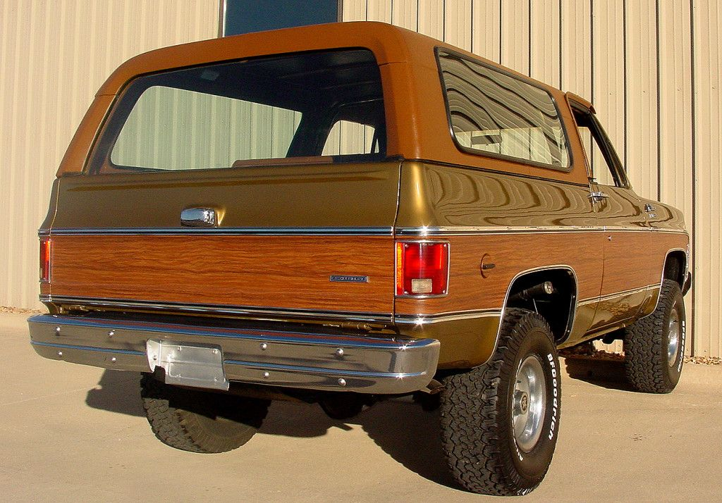 Moss Gold Honey Restored 1975 Chevrolet Blazer Chevrolet Blazer Chevy Trucks Chevrolet