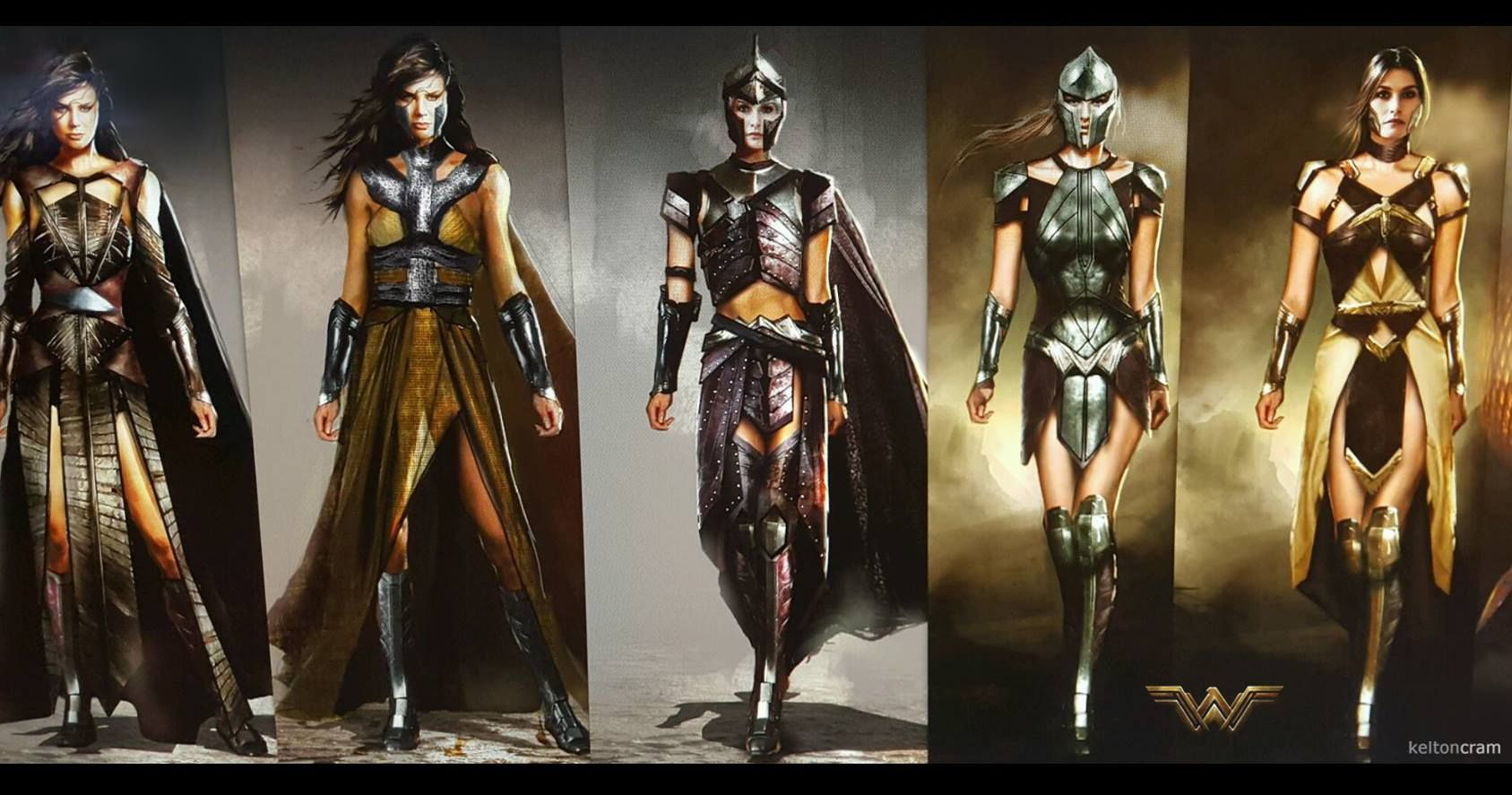 Spada Wonder Woman Wonderful Concept Art Of Wonder Woman And The Amazons