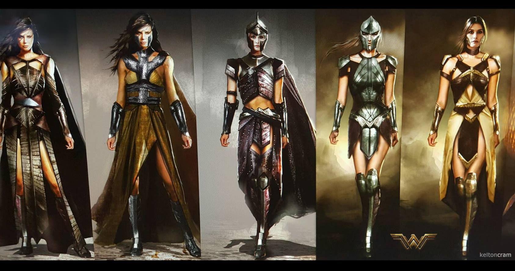 Wonder Woman Amazon Armor