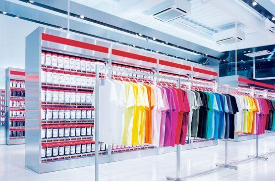 Modern Retail Uniqlo Plastolux Interiores Vitrinas Disenos De Unas