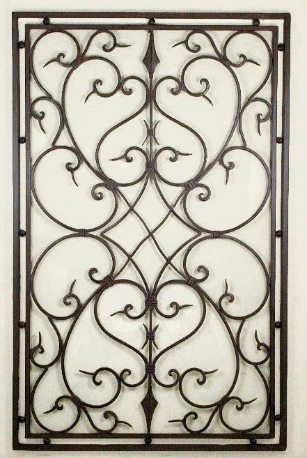 Wrought Iron Wall Decor Rectangle Google Search For The