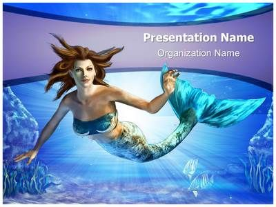 Mermaid Powerpoint Template Is One Of The Best Powerpoint Templates